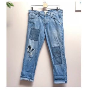 Current /Elliott the fling boyfriend jeans 28